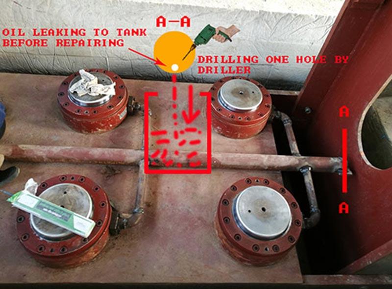 Методы горячего прессования / холодного отжима сопла марки Geelong / способы утечки гидравлического масла
