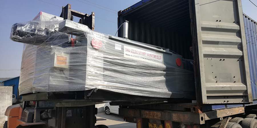 Линия лущения шпона 4feet экспортируется в Индонезию для старых клиентов