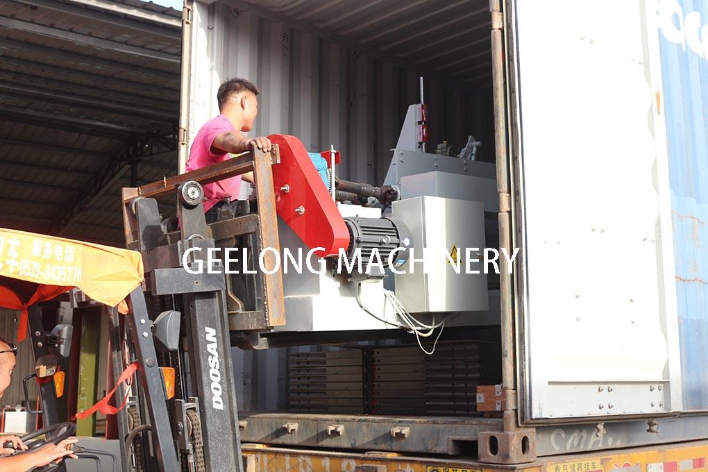 Китай фанеры машина экспортируется в другие страны